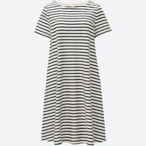 Uniqlo JACQUARD STRIPED DRESS size S
